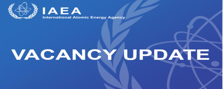 IAEA Vacancy Update